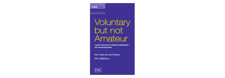 voluntary but not amateur - cover